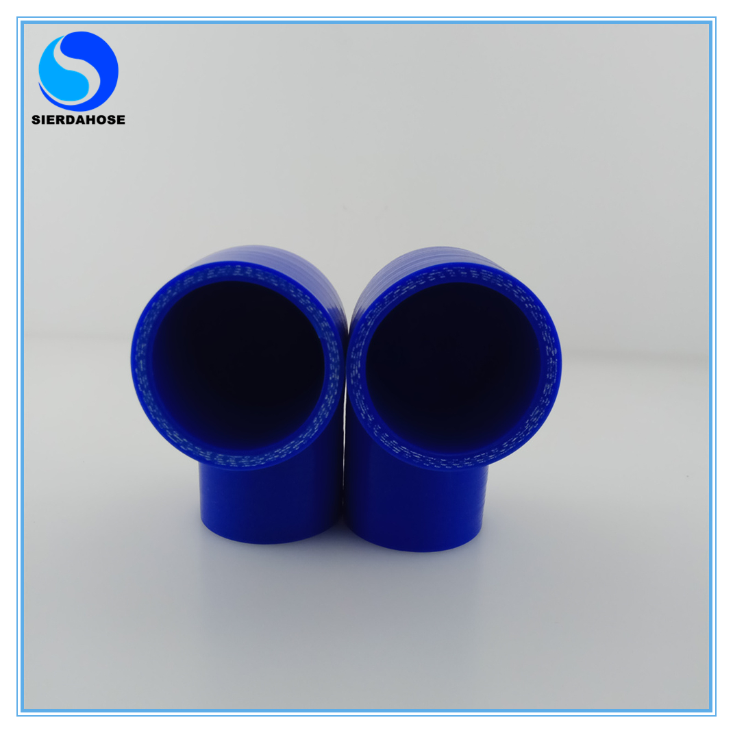 3.75-3.75 90 Degree Elbow Blue 4-Ply Turbo//Intake//Intercooler Piping Silicone Coupler Hose+T-Clamp