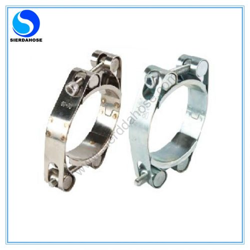 double bolts and double bands super clamp -1